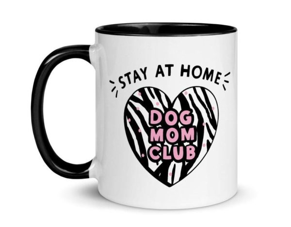 Personalized Dog Puppy Gift Coffee Mug With Paws Live Love Woof Pet Parent Gift